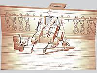 Панно резное из дерева «Корабельная пушка»