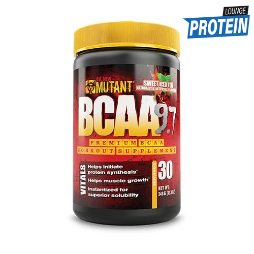 Амінокислоти bcaa PVL Mutant BCAA 9.7 1044 g