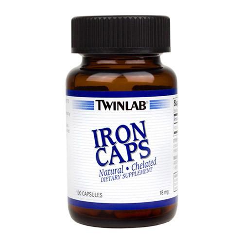 Железо Twinlab Iron Caps (100 капс)  тривнлаб