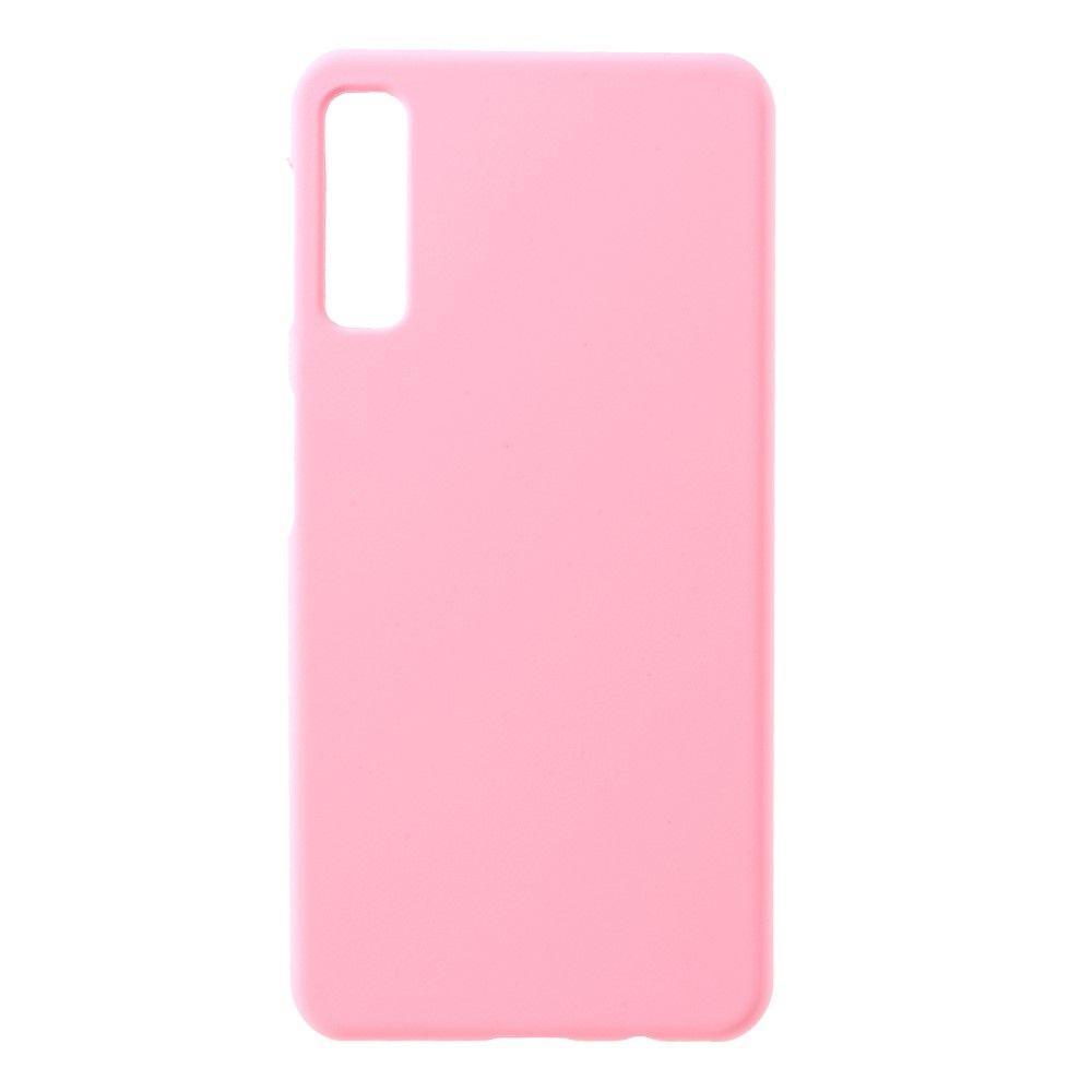 Чехол Silicone case для Samsung A750 Galaxy A7 (2018) Светлый Розовый / Rose Pink