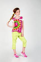 Детская футболка для девочки Desigual Испания 42T3226 Белый