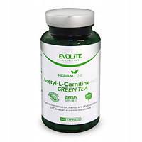 Жиросжигатель Evolite Nutrition  Acetyl L-Carnitine HCL + Green Tea  100caps