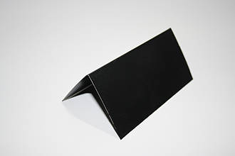 Ценник меловой 9х9 см V-образный двухсторонний для надписей мелом и маркером. Крейдовий