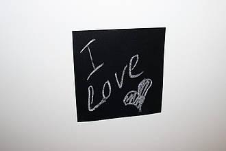 Крейдяна магнітна табличка на холодильник А4 20 см х 30 см Дошки на холодильник. Грифельна чорна