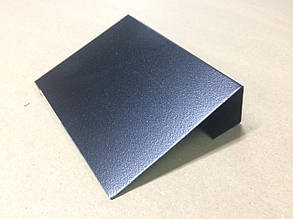 Меловой ценник 5х10 см с подставкой (для надписей мелом и маркером) грифельный. Крейдовий цінник