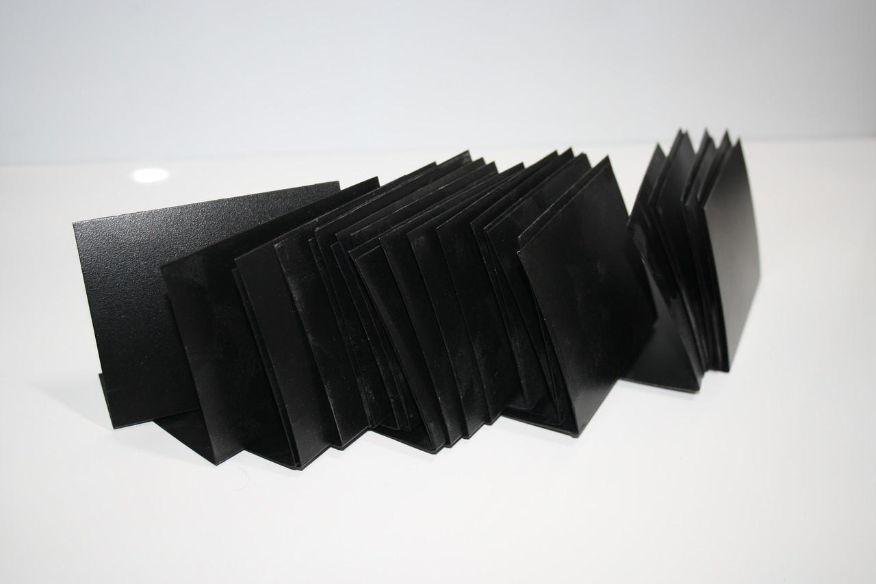 Меловые ценники 7х5 см L-образные вертикальные 100 шт (для мела и маркера) Грифельные