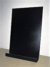 Крейдяна дошка на холодильник 30х15 див. Магнітна. З поличкою для маркера.