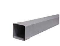 Труба подовжувач для парапетной воронки 100х100 мм,1метр