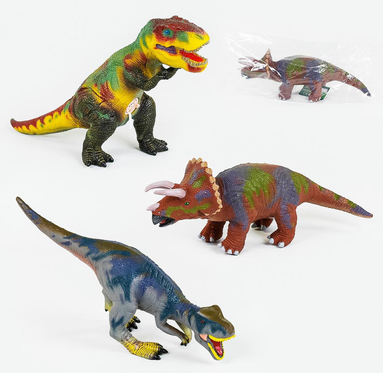 Игрушка Музыкальный динозавр 60см