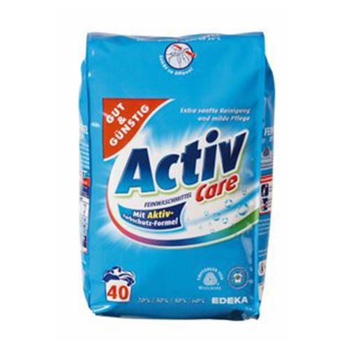 Gut & Gunstig Active Care-Порошок для деликатных тканей, шерсти и шелка на 40 стирок 2 кг