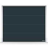 Ворота автоматические секционные для гаража Hormann RenoMatic L-гофр 3500x2125 с приводом ProMatic, фото 1