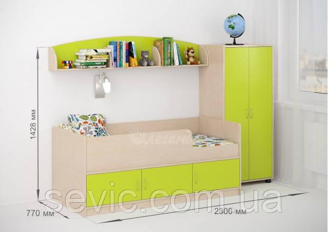 Детская комната ДКМ 406