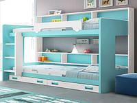 Детская кровать для двоих ДМ 720