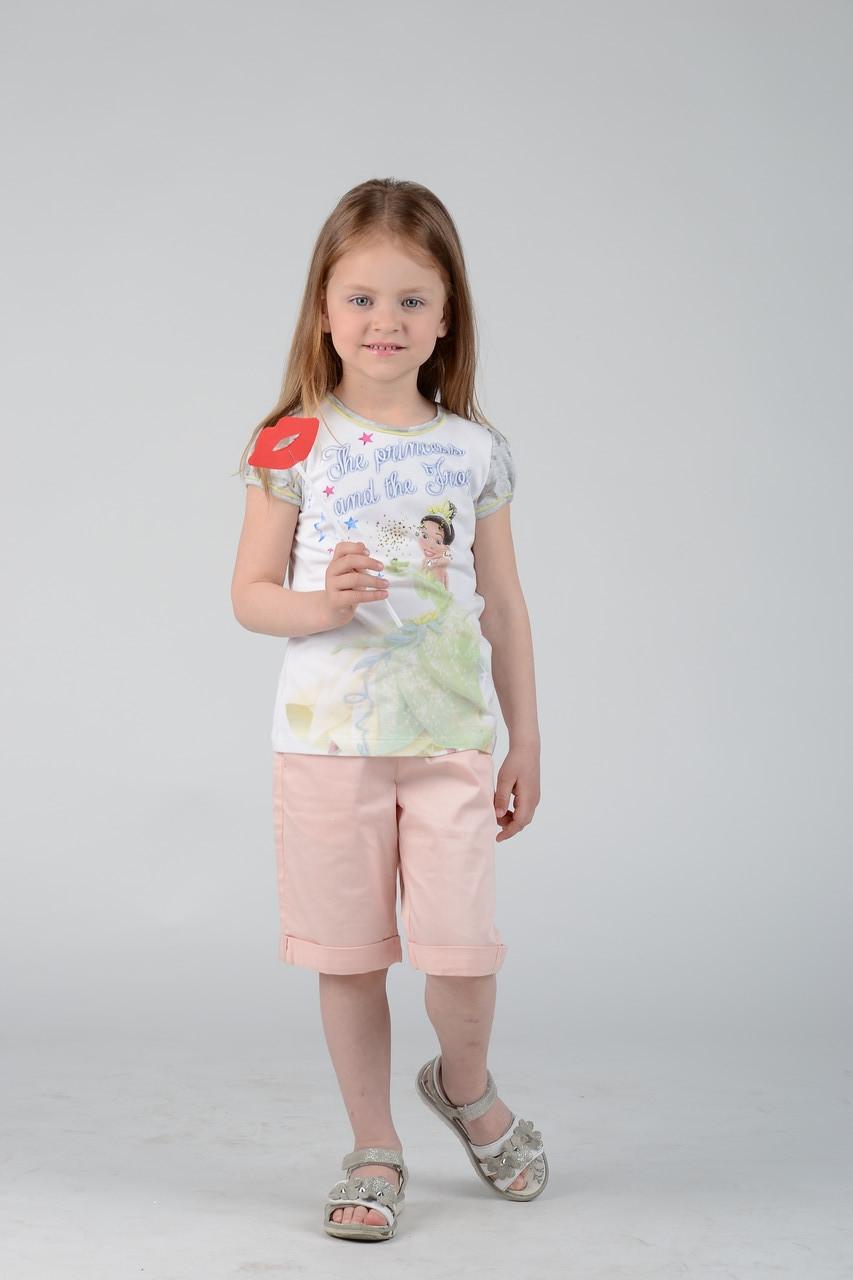 Детская футболка для девочки BRUMS Италия 141BGFN004 Белый