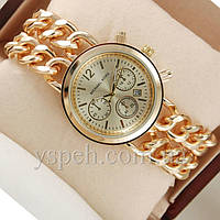 Женские  Часы Michael Kors Sequence Gold/White