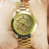 Женские  Часы Michael Kors Golden Oversized Runway Watch
