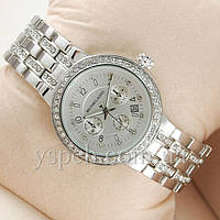 Женские  Часы Michael Kors Diamonds Chronograph Silver
