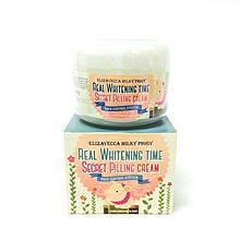 Пілінг для обличчя від пігментних плям ELIZAVECCA Milky Piggy Real Whitening Time Secret Pilling Cream