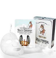 Увлажняющая маска с паровым ослиным кремом ELIZAVECCA Silky Creamy Donkey Steam Cream, 10 шт