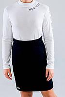 Юбка прямая Фарида цвет черный тм Suzie  размер 122,128,134,140