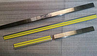 Защитные хром накладки на пороги BMW X5 e53 (БМВ Х5 е53) 2000г-2006г