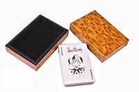 Карты игральные в деревянной коробке, фото 1