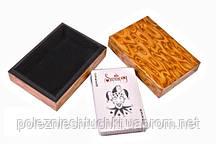 Карты игральные в деревянной коробке