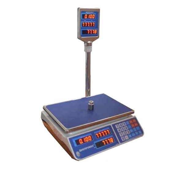 Весы настольные торговые до 15 кг ВТД-15ЕЛ