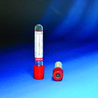 Пробирки вакуумные Vacurate 13х100 мм (для 6 мл крови)  + активатор свертывания (кремнезем) (упаковка 100 шт)