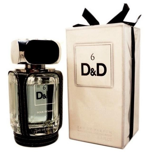 Мужская парфюмерная вода 6 D&D 100ml. Fragrance World.