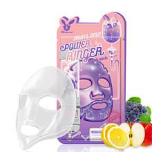 Маска фруктова тонізуюча ELIZAVECCA Fruits Deep Power Ringer Mask Pack, 23 мл