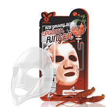 Маска омолоджуюча з женьшенем Elizavecca Red Ginseng Deep Power Ringer Mask Pack, 23 Мл
