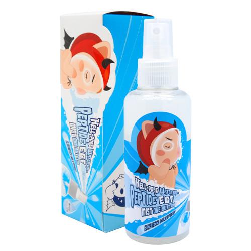 Омолоджуюча пептидна маска-спрей ELIZAVECCA Milky Piggy Hell-Pore Water Up Peptide Egf Mist One Button