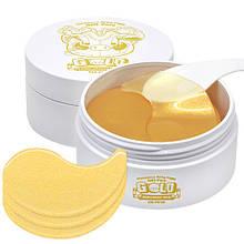Омолоджуючі патчі з золотом і гіалуроновою кислотою ELIZAVECCA Gold Hyaluronic Acid Eye Patch, 60 шт