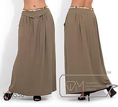 Красивая женская длинная юбка  батал с 50 по 56 размер, фото 2