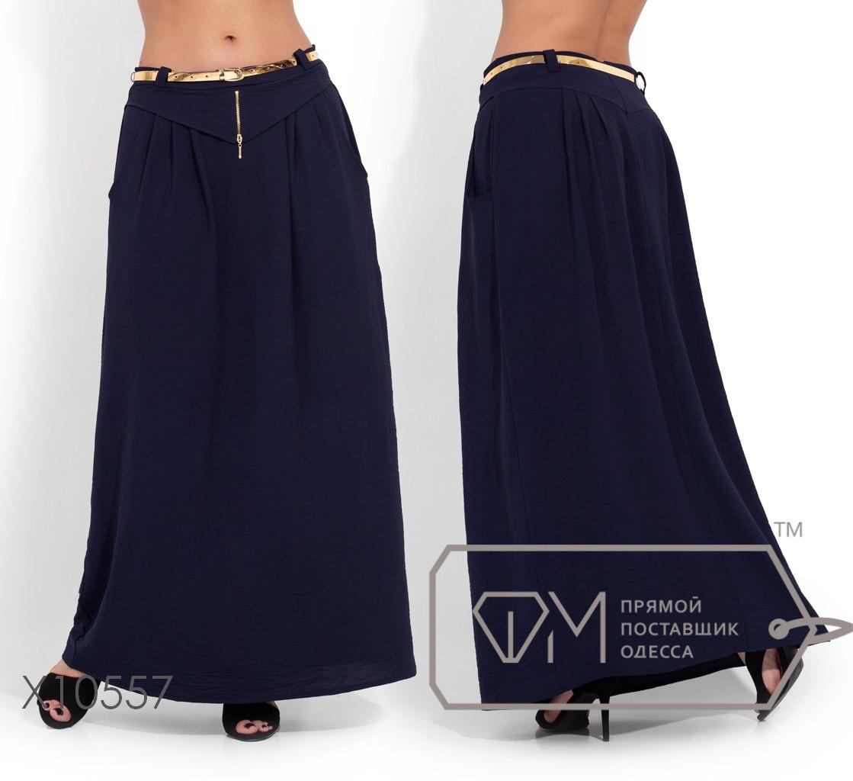 Красивая женская длинная юбка  батал с 50 по 56 размер