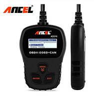 Сканер Диагностика Автосканер Ancel AD210 на русском языке OBD2