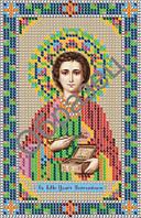 """Схема для вышивки бисером """"Святой великомученик и целитель Пантелеймон"""""""