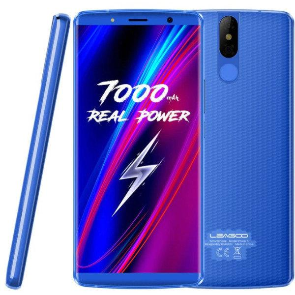 Leagoo Power 5 blue