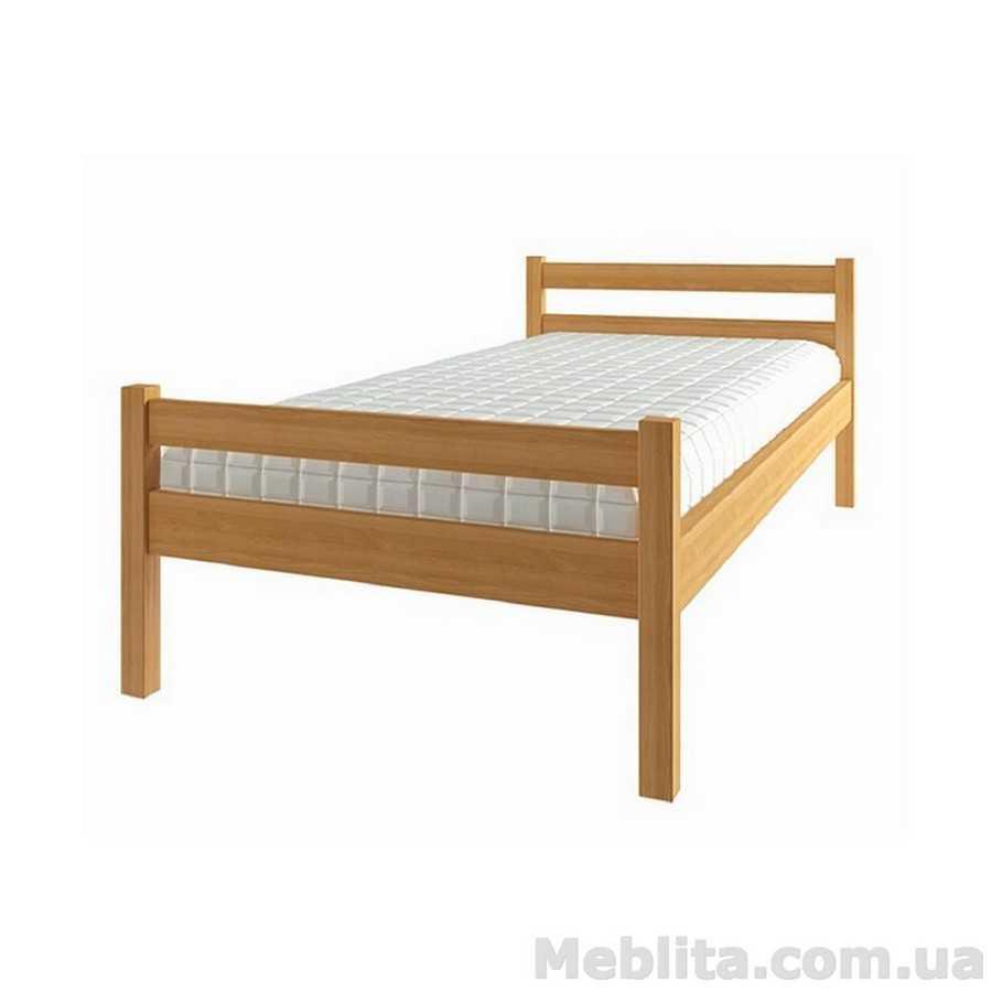 Кровать детская из массива дерева Еко 3