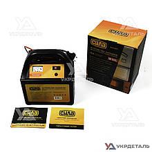 Зарядное устройство для авто 24В (12В), 15А (стрелочный индикатор) | СИЛА 900207