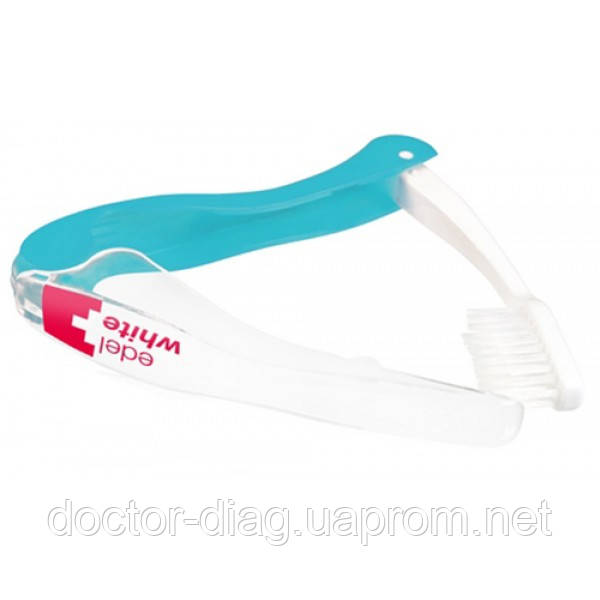 Edel+White Edel+White Дорожная отбеливающая зубная щетка (средней жесткости)