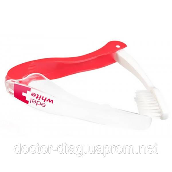 Edel+White Edel+White Дорожная зубная щетка-флос (мягкая)