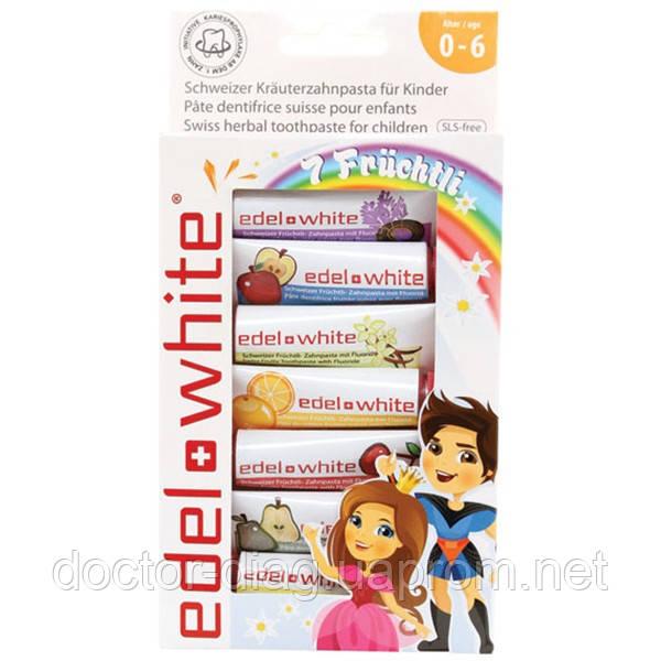 Edel+White Детская зубная паста Edel+White «7 Фруктов» (65.1 мл)