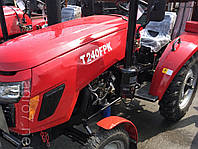 Трактор с доставкой Т 240FРК (24 л.с., 3 цилиндра, KM385, КПП (3+1)х2, регулируемая колея), фото 1