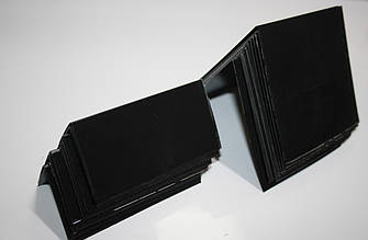 Крейдяний цінник А7 10х7 см V-подібний подвійний вертикальний (для крейди і маркера)