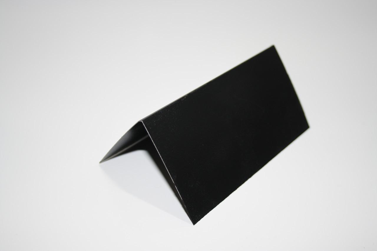 Ценник меловой 5х10 см V-образный двухсторонний для надписей мелом и маркером грифельный. Крейдовий