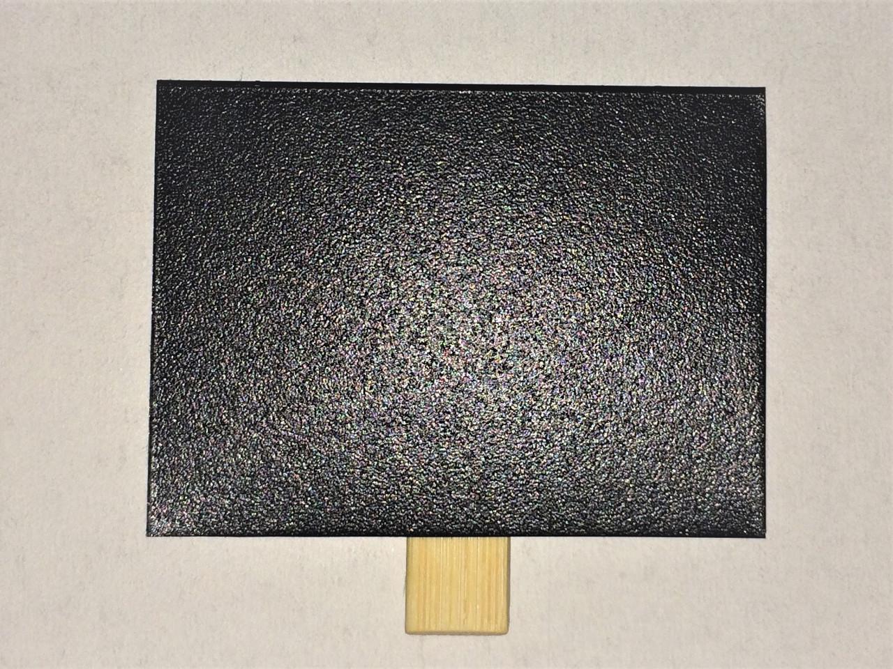 Ценник меловой 7х10 см на прищепке для мела и маркера. Грифельная табличка. Крейдовий цінник чорний