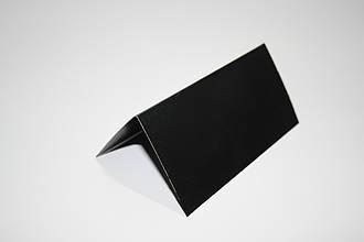 Крейдяний цінник 3х4 см V-подібний подвійний для написів крейдою. Крейдовий