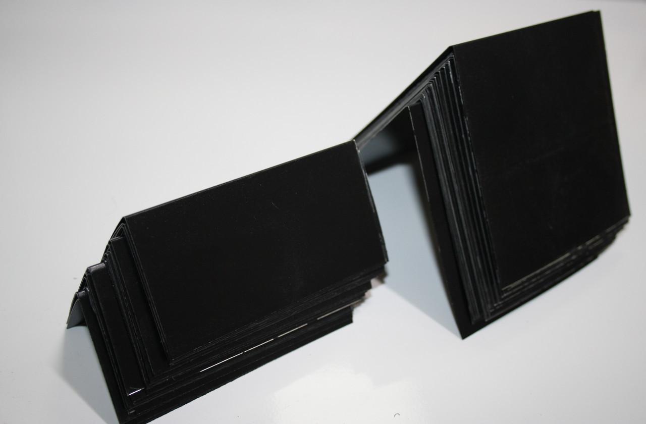 Меловой  ценник 7х5 см V-образный двухсторонний вертикальный (для надписей мелом и маркером)  грифельный